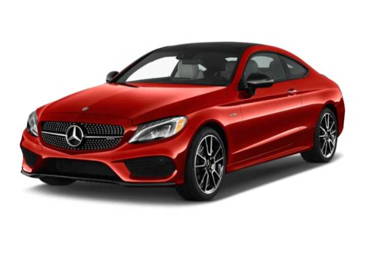Mercedes C coupe W205 AMG pack